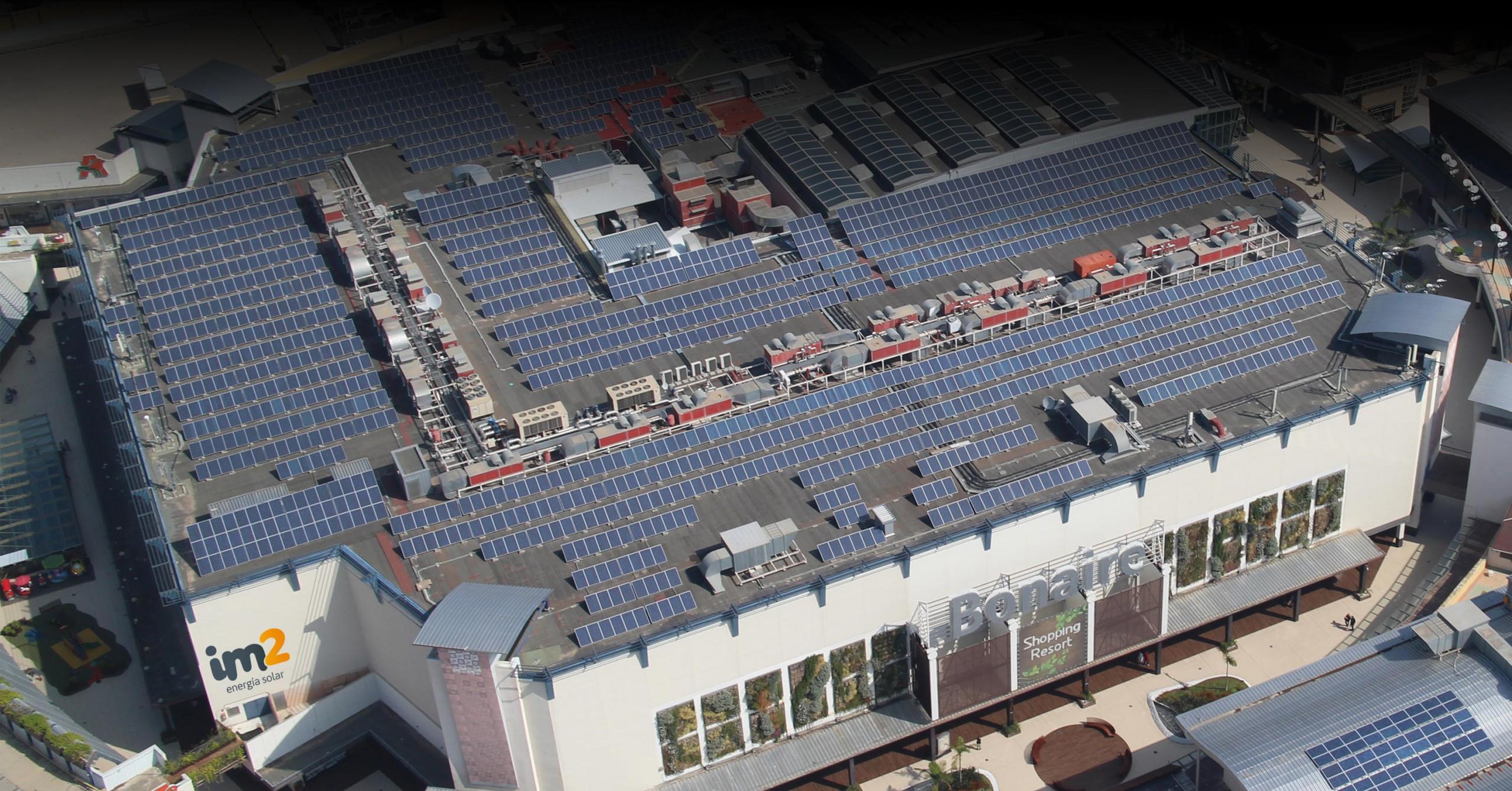 Paneles solares - Bonaire Valencia